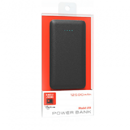 New Age Power Bank J18 12500mAh (DW)