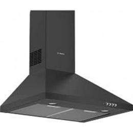 Bosch Wall Mounted Chimney Hood (Black) 60cm|DWP64CC60Z