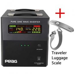 PRAG 2.5KVA/24V PURE SINE WAVE INVERTER + AC/DC CABLE