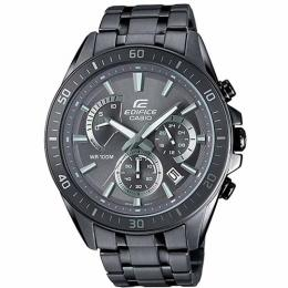 CASIO GENT'S EFR-552GY-8AVUDF EDIFICE CHRONOGRAPH GREY DIAL BRACELET WATCH