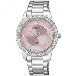 CITIZEN EL3090-81X WOMEN'S QUARTZ SWAROVSKI CRYSTALS ELEGANT WATCH