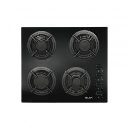 Elba Elegantia 41 - E41-455 BK 4 Burner Gas on Glass Hob