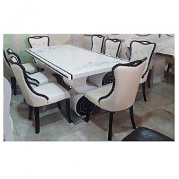 Vitafoam Elegant dining table (for 6) - deluxe.com.ng