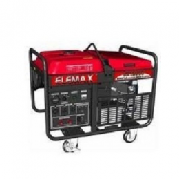 Elemax Honda Generator - 10.5KVA 11000EX with Wheel and Battery - deluxe.com.ng