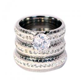 Eternity Stone Wedding Ring