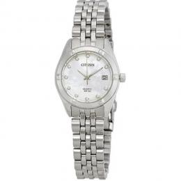 CITIZEN EU6050-59D WOMEN'S ANALOG QUARTZ DIAMOND ACCENT SMALL WATCH