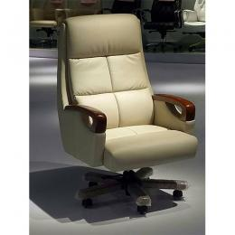 Executive Recline Chair (Cream)