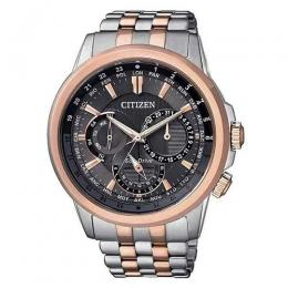 CITIZEN BU2026-65H MEN'S ECO-DRIVE TWO TONE BRACELET WATCH