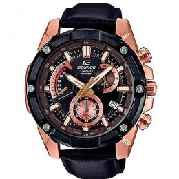 CASIO GENT'S EFR-559BGL-1AVUD RETRO CHRONOGRAPH ROSE GOLD CASE WATCH