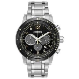 CITIZEN CA4358-58E MEN'S CHRONOGRAPH STAINLESS STEEL WATCH