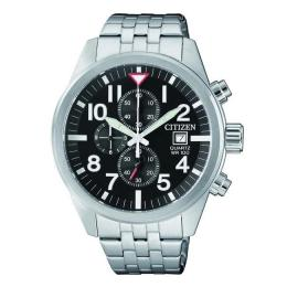 CITIZEN AN3620-51E MEN'S QUARTZ CHRONOGRAPH STAINLESS STEEL WATCH
