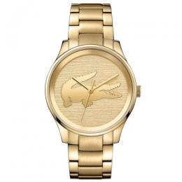 LACOSTE 2001016 WOMEN'S ANALOG QUARTZ YELLOW GOLD BRACELET WATCH
