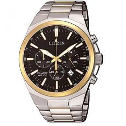 CITIZEN AN8174-58E MEN'S CHRONOGRAPH TACHYMETER QUARTZ MEDIUM WATCH