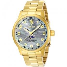 INVICTA 23827 MEN'S SEA BASE QUARTZ 3 HAND PLATINUM DIAL WATCH