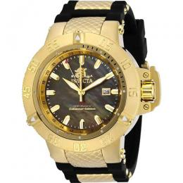 INVICTA 29618 MEN'S SUBAQUA QUARTZ GMT BROWN DIAL LARGE WATCH