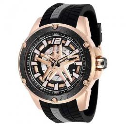 INVICTA 28303 MEN'S S1 RALLY AUTOMATIC ROSE GOLD, BLACK DIAL LARGE WATCH