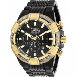INVICTA 29032 MEN'S BOLT QUARTZ CHRONOGRAPH BLACK DIAL XL WATCH