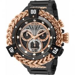 INVICTA 31781 MEN'S RESERVE CHRONOGRAPH BLACK, ROSE GOLD, TITANIUM DIAL XL WATCH