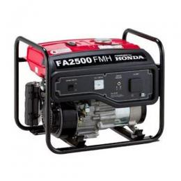 Honda 2.2KVA Manual Start Generator - FA2500