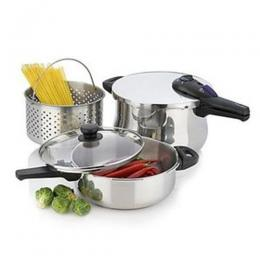 Fagor Rapid Express 5-Piece Pressure Cooker Set