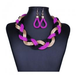 Metal-hand-woven-coarse-chain-necklaces (BNS)