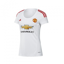 (Customized) Female Manchester United Authentic Away Jersey 2015/16