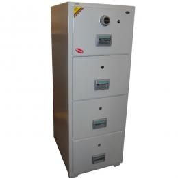 Firepower 4-drawer fireproof cabinet(Combination Lock)
