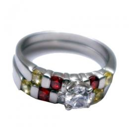 For Ladies Of Color, Stainless Steel Wedding Ring
