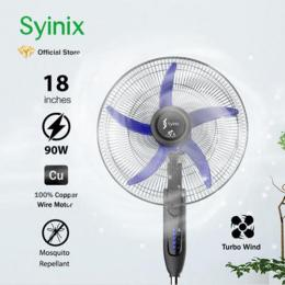 "Syinix Standing Fan (18"" inch) Mosquito Repellent 