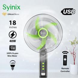 "Syinix Rechargeable Standing Fan (18"" inch) 