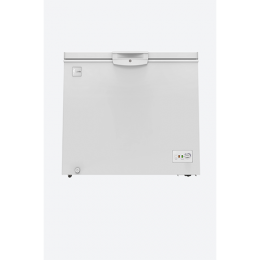 SYINIX SINGLE DOOR CHEST FREEZER|FZ340|265L|R600A|WHITE|SILVER|LED
