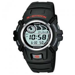 CASIO G-2900F-1V MEN'S G SHOCK BLACK RUBBER WATCH
