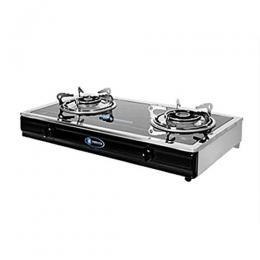 SKYRUN 2 BURNER TABLE TOP GAS COOKER | GC-XD1608-3
