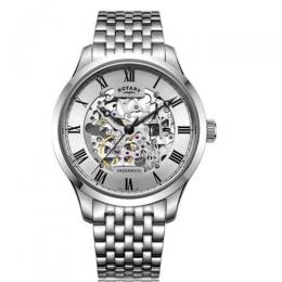 ROTARY GB02940/06 MEN'S GREENWICH STAINLESS STEEL WATCH