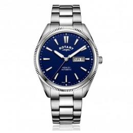 ROTARY GB05380/05 MEN'S HENLEY SERRATED BEZEL AUTOMATIC WATCH