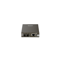 D-LINK 0Base-LX SM SC Gigabit Fiber Media Converter (Up to 10km) UK plug - deluxe.com.ng