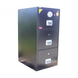 Global 3-drawer fireproof cabinet(Combination Lock)