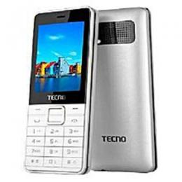 "Tecno T371 - 2.4"" Dual Sim Mobile Phone - Grey/Red"