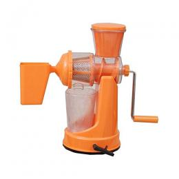 Happy Home Manual Fruit & Vegetable Juicer With Waste Cup - Orange