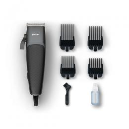 Philips Home clipper HC3100/13 Copper motor coil Durable, steel blades 2.4m cord 4 click-on combs(DT)