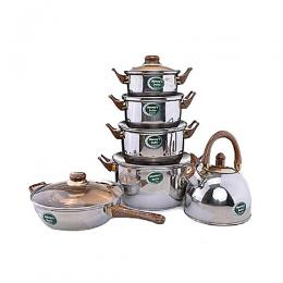 Home Choice Complete Cookware Set-6Pcs