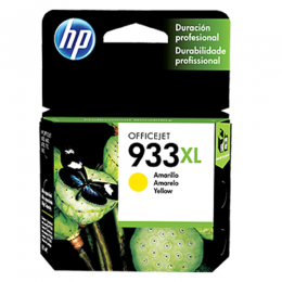 HP 933XL High Yield Yellow Original Ink Cartridge(CN056AE)