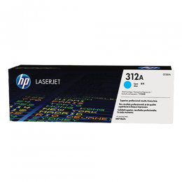 HP 312A Cyan Original LaserJet Toner Cartridge(CF381A)