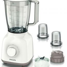Philips Daily Collection Blender with Mill and Chopper 1.5 Litre 400 Watts - HR2114/05