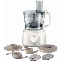 Philips HR7628/01 Daily Collection Food Processor, 1.5 Litre, 650 Watt - White