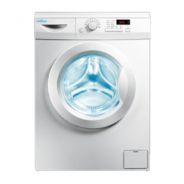 Haier Thermocool Front Load Automatic Washing Machine 7KG (Silver)