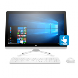 HP 24-inch All-in-One Touch Computer, Intel Core i3-7100U, 8GB RAM, 1TB hard drive, Windows 10
