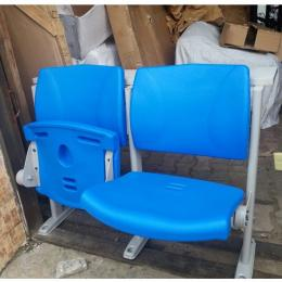 Foldable Plastic Chair (2in1 Blue)
