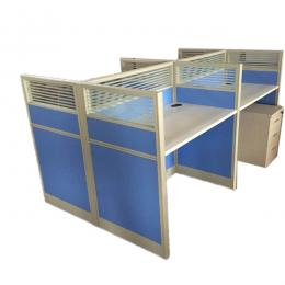 4-Seater Panel Workstation