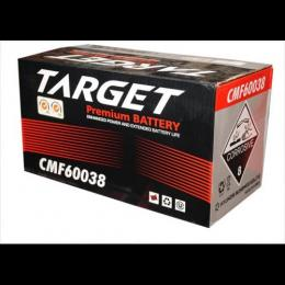 TARGET PREMIUM BATTERY CMF 60038 12V 75AH CAR BATTERY - deluxe.com.ng